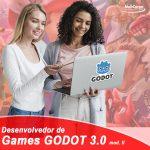 DESENVOLVEDOR DE GAMES 3D II com logo