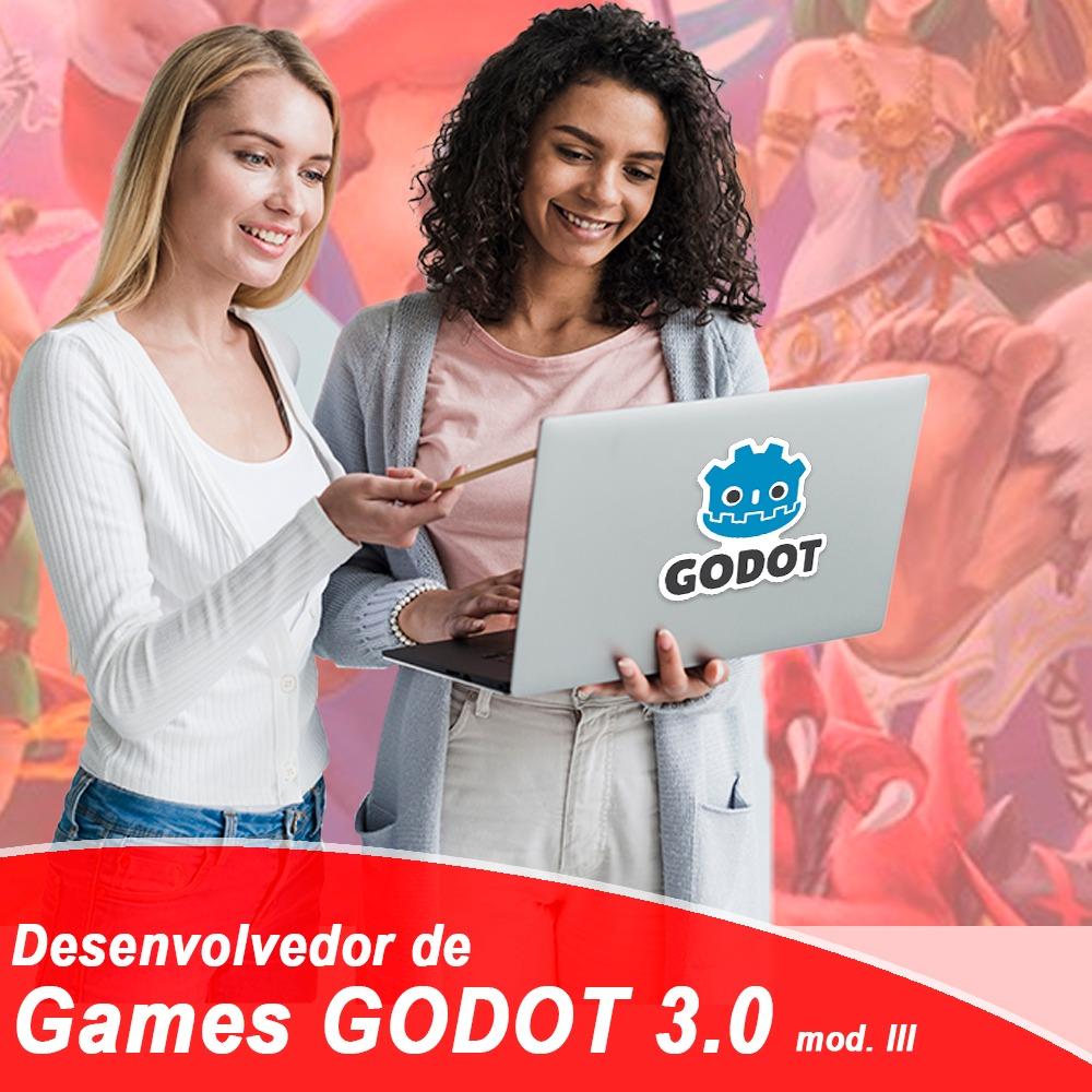 Desenvolvedor de Game com Godot 3.0 – Módulo III